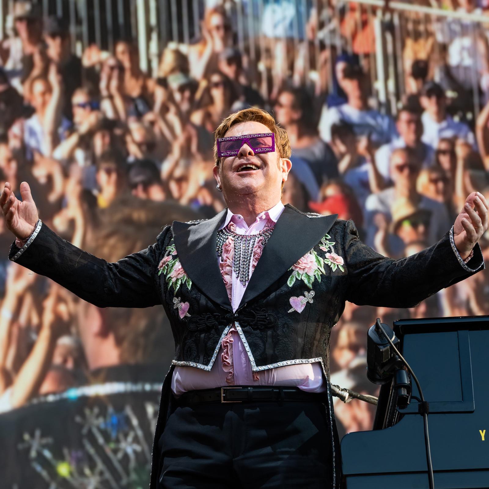 Elton John square