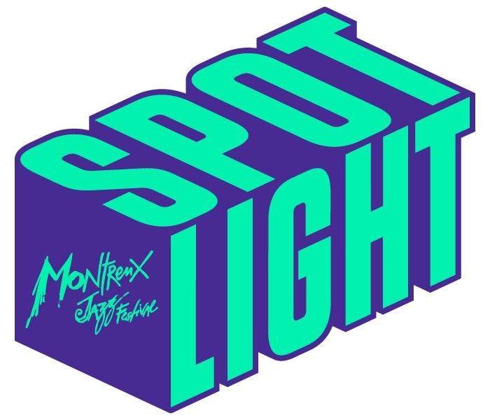 logo spotlight fond blanc